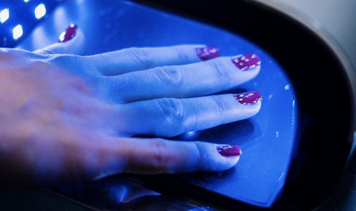 máquina de rayos para manicura de uñas   protocolo de seguridad covid-19
